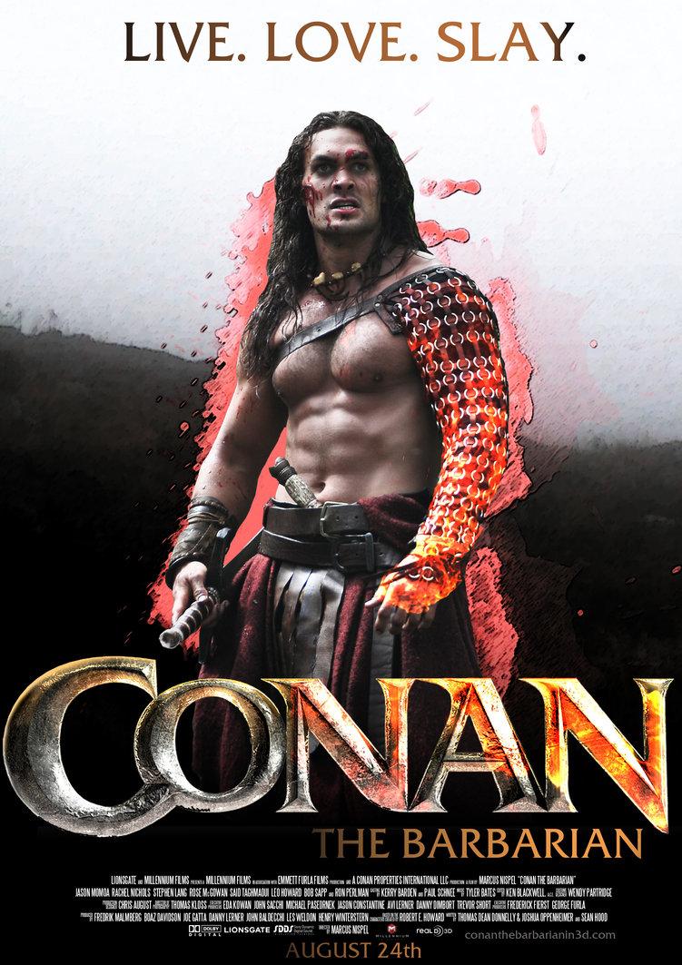 Conan 2011 Minimalist crush your enemies: conan 2011, part one   chris la tray